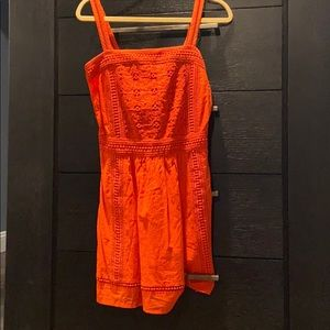 NWOT Scotch and soda red summer dress. Never worn!